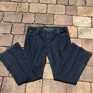 🎉HP🎉 Michael Kors Dark Wash Flared Denim Jeans